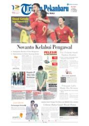 Cover Tribun Pekanbaru 16 Juni 2019