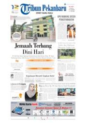Cover Tribun Pekanbaru 17 Juni 2019