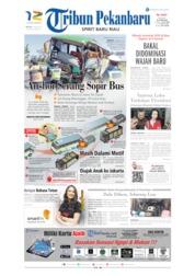 Tribun Pekanbaru Cover 18 June 2019