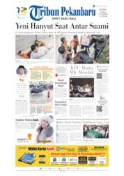 Cover Tribun Pekanbaru 19 Juni 2019