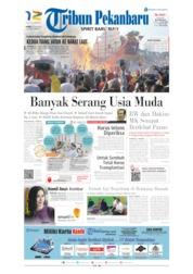 Cover Tribun Pekanbaru 20 Juni 2019