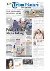 Cover Tribun Pekanbaru 22 Juni 2019