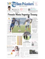 Tribun Pekanbaru Cover 23 June 2019