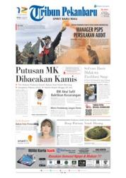 Cover Tribun Pekanbaru 25 Juni 2019