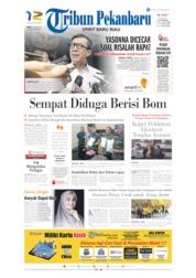Cover Tribun Pekanbaru 26 Juni 2019