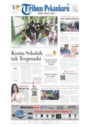 Tribun Pekanbaru Cover 09 July 2019