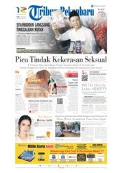 Tribun Pekanbaru Cover 10 July 2019