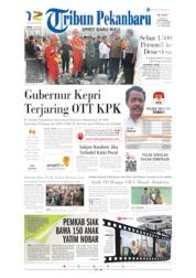 Tribun Pekanbaru Cover 11 July 2019