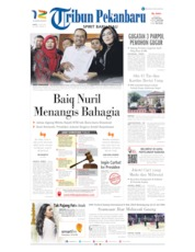 Tribun Pekanbaru Cover 13 July 2019