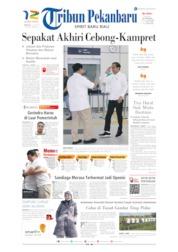 Cover Tribun Pekanbaru 14 Juli 2019