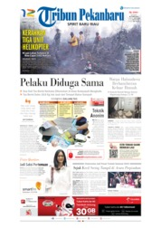 Tribun Pekanbaru Cover 15 July 2019