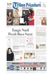 Cover Tribun Pekanbaru 16 Juli 2019