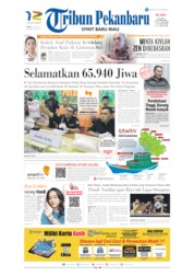 Tribun Pekanbaru Cover 17 July 2019