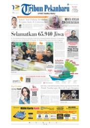 Cover Tribun Pekanbaru 17 Juli 2019