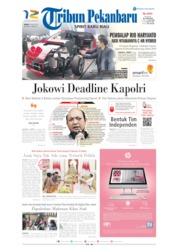 Cover Tribun Pekanbaru 20 Juli 2019