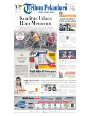 Cover Tribun Pekanbaru 22 Juli 2019