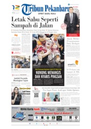 Cover Tribun Pekanbaru 23 Juli 2019