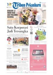Cover Tribun Pekanbaru 10 Agustus 2019