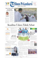 Tribun Pekanbaru Cover 11 August 2019
