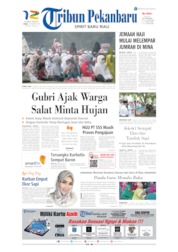 Tribun Pekanbaru Cover 12 August 2019