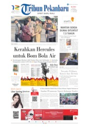 Tribun Pekanbaru Cover 13 August 2019
