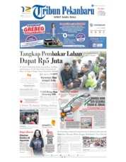 Tribun Pekanbaru Cover 16 August 2019