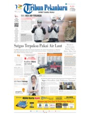 Tribun Pekanbaru Cover 21 August 2019