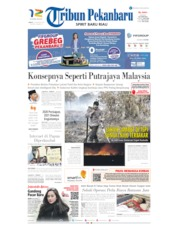 Tribun Pekanbaru Cover 23 August 2019