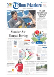 Cover Tribun Pekanbaru 25 Agustus 2019
