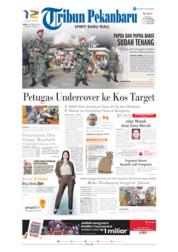 Cover Tribun Pekanbaru 02 September 2019