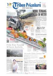 Cover Tribun Pekanbaru 03 September 2019