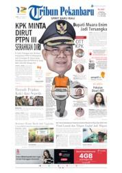 Cover Tribun Pekanbaru 04 September 2019