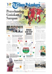 Cover Tribun Pekanbaru 06 September 2019