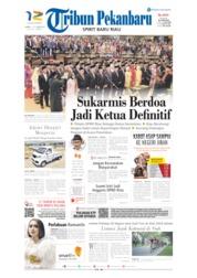 Cover Tribun Pekanbaru 07 September 2019