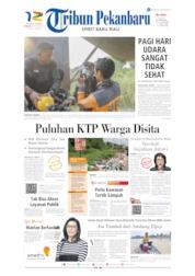 Cover Tribun Pekanbaru 08 September 2019