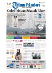 Cover Tribun Pekanbaru 10 September 2019