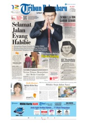 Tribun Pekanbaru Cover 12 September 2019