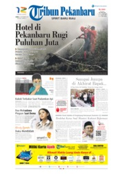 Tribun Pekanbaru Cover 13 September 2019