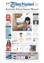 Cover Tribun Pekanbaru 16 September 2019