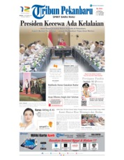 Cover Tribun Pekanbaru 17 September 2019