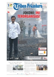 Tribun Pekanbaru Cover 18 September 2019