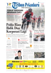 Cover Tribun Pekanbaru 20 September 2019