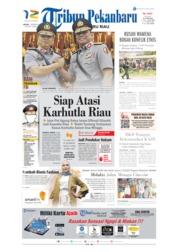 Tribun Pekanbaru Cover 01 October 2019