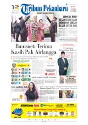 Tribun Pekanbaru Cover 04 October 2019