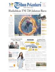 Tribun Pekanbaru Cover 06 October 2019