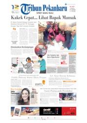 Cover Tribun Pekanbaru 07 Oktober 2019
