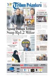 Cover Tribun Pekanbaru 08 Oktober 2019