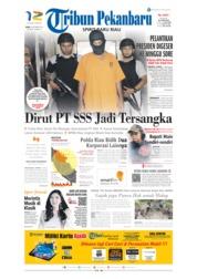 Cover Tribun Pekanbaru 09 Oktober 2019
