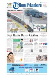 Cover Tribun Pekanbaru 10 Oktober 2019