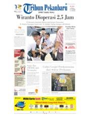 Cover Tribun Pekanbaru 11 Oktober 2019